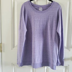 CALIA Scoop Neck Longsleeves Pull Over Sweater